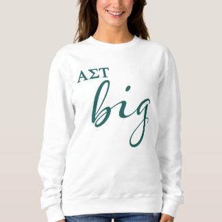 Sweatshirt Manuscrit de Tau d'alpha sigma grand