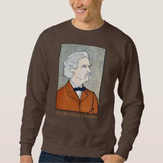 Sweatshirt Mark Twain vintage - l'explorez. Rêve. Découvrez
