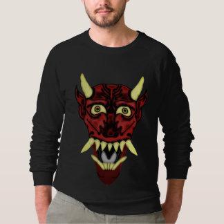 Sweatshirt masque de démon de hannya
