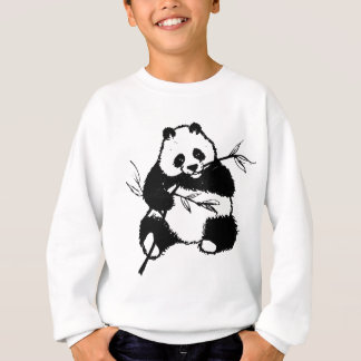 Sweatshirt Mastication du panda