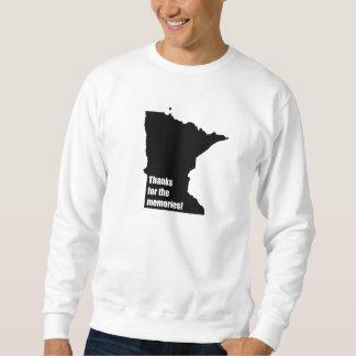 Sweatshirt Merci pour les souvenirs Minnesota