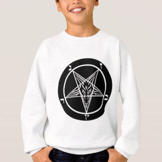 Sweatshirt métal noir, baphomet, seigneur d'obscurité !