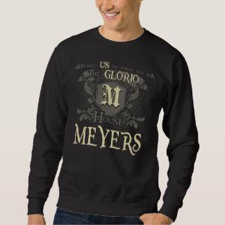 Sweatshirt MEYERS de Chambre. Chemise de cadeau pour