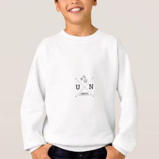 Sweatshirt Miniature majestueuse de crête de la licorne X
