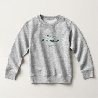 Sweatshirt minimal simple de Noël du père noël