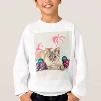Sweatshirt Miscellaneous - Cat With Woolly Hat Eight