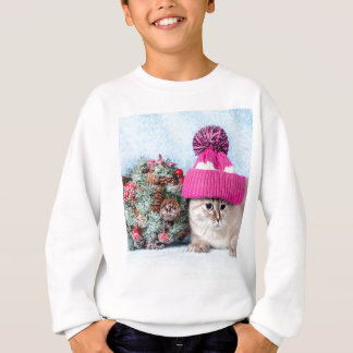 Sweatshirt Miscellaneous - Cat With Woolly Hat Five