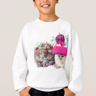 Sweatshirt Miscellaneous - Cat With Woolly Hat Nine