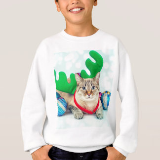 Sweatshirt Miscellaneous - Cat With Woolly Hat One