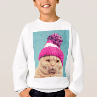 Sweatshirt Miscellaneous - Cat With Woolly Hat Seven