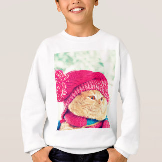 Sweatshirt Miscellaneous - Cat With Woolly Hat Six