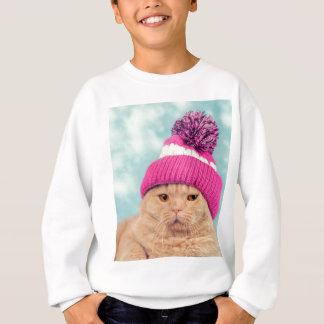 Sweatshirt Miscellaneous - Cat With Woolly Hat Ten