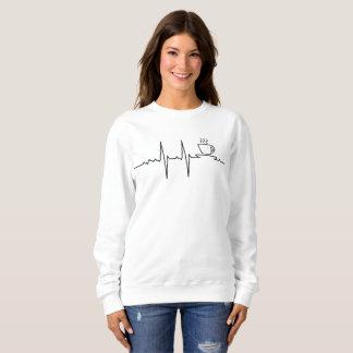 Sweatshirt Mon Coeur bat par Café