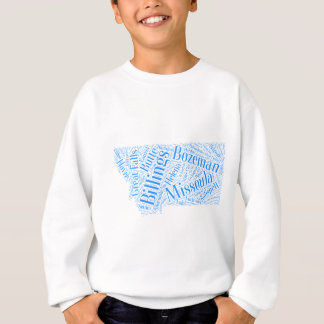Sweatshirt Montana-bleu