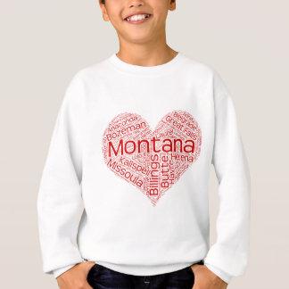 Sweatshirt Montana-coeur