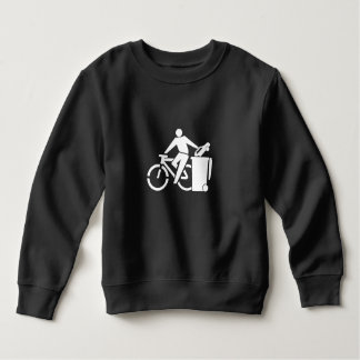 Sweatshirt Montez un vélo pas une voiture