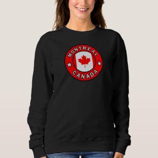 Sweatshirt Montréal Canada