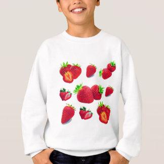 Sweatshirt Motif de fruit de fraise