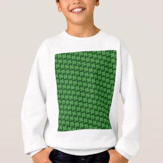 Sweatshirt Motif de quatre feuilles