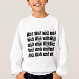 Sweatshirt Motif frais d'appareil-photo