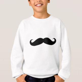 Sweatshirt Moustache noire ou moustache noire pour des