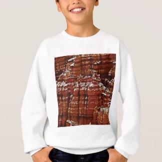 Sweatshirt mur de roche de forme de forme d'érosion