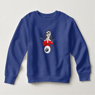 Sweatshirt musicien de panda