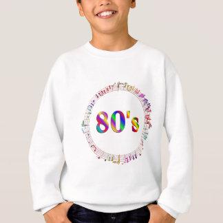 Sweatshirt musique 80s