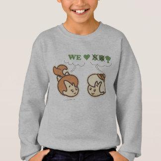 Sweatshirt Nature d'amours de PEBBLES™ et de BAMM-BAMM™