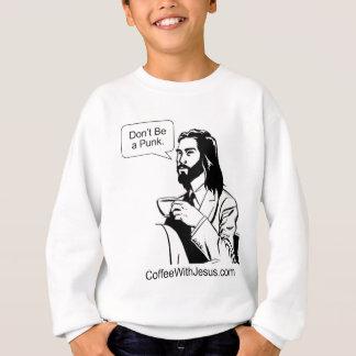 Sweatshirt Ne soyez pas un punk