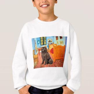 Sweatshirt Newfie (brun) - pièce chez Arles