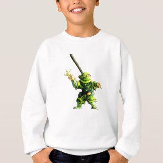 Sweatshirt Ninja en vert