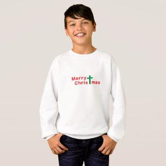 Sweatshirt Noël de chrétien de Joyeux Noël