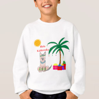 Sweatshirt Noël de Hawaïen de chien de berger de Germman