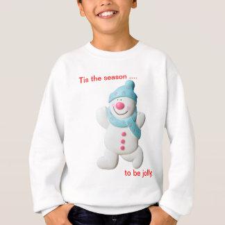 Sweatshirt Noël heureux de nouveauté de bonhomme de neige