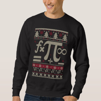 Sweatshirt Noël laid de maths