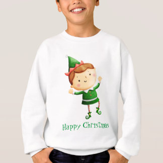 Sweatshirt Noël mignon Elf