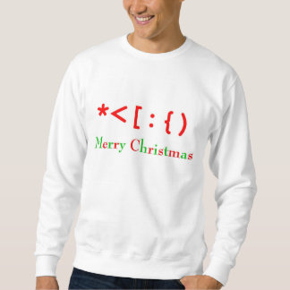 Sweatshirt Noël souriant