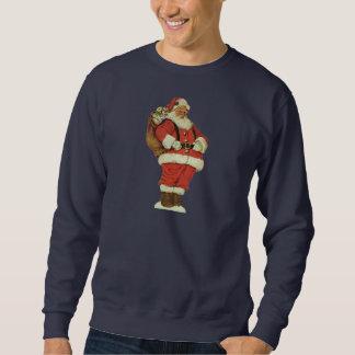 Sweatshirt Noël vintage, le père noël victorien avec des