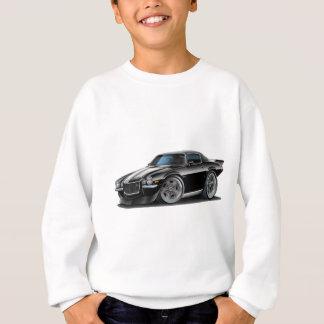 Sweatshirt Noir 1970-73 de Camaro/voiture blanche