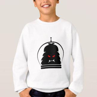 Sweatshirt Noir de yeti d'Astro avec les yeux rouges