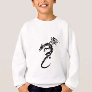 Sweatshirt Norbert le dragon noir