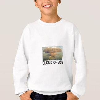 Sweatshirt nuage d'art de cendre
