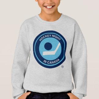 Sweatshirt Nuit d'hockey dans le rétro logo du Canada