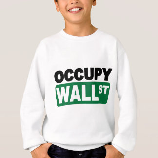 Sweatshirt Occupez Wall Street