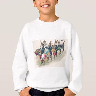 Sweatshirt Oeuf de bande de défilé de lapin de Pâques