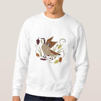 Sweatshirt Oies du Canada en automne