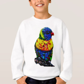 Sweatshirt Oiseau coloré de perroquet