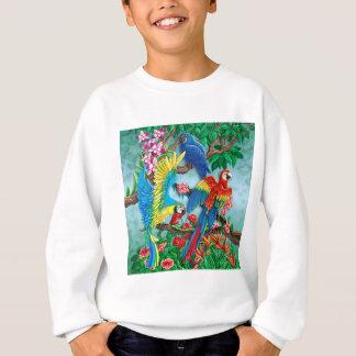 Sweatshirt Oiseaux du paradis