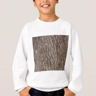 Sweatshirt ondulations de l'écorce blanche